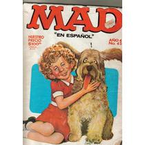 Revista Mad, En Español. Año 4 # 45 $70.00 (octubre 1983)