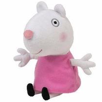 Peppa Pig Pelúcia Amiga Da Peppa Ovelha Suzy 20cm Da Ty!
