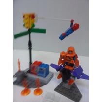 Lego Spiderman Set Duende Verde Hombre Araña Ciudad