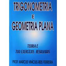 Matemática - Livro De Trigonometria E Geometria Plana