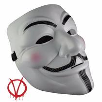 Mascara V De Venganza Anonimus Vendetta Anonymous Disfraz