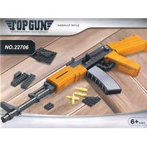 Repicla Para Armar Rifle Ak-47 Compatible Lego 617 Pzas