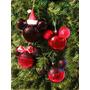 Esferas Decorativas Mimi Mickey Disney Santa Adorno Navideño