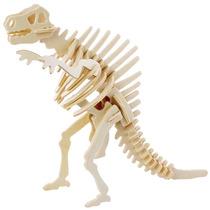 Dinosaurio Spinosaurus 3d De Madera Rompecabezas