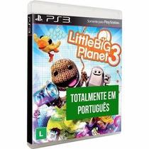 Little Big Planet 3 Ps3, Dublado Em Português, Lacrado!