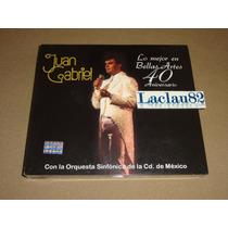 Juan Gabirel Lo Mejor En Bellas Artes 40 Aniversa 14 Sony Cd