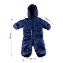 Enterito Niños Bebés Térmico Azul