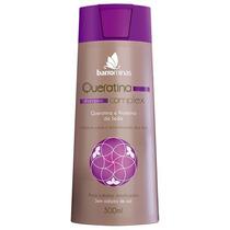 Shampoo Barrominas Queratina E Proteínas Da Seda 300ml