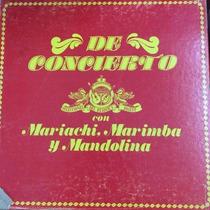 Album De Concierto Mariachi , Marimba, En Buenas Condiciones