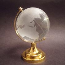 20 Esferas Globo Terraqueo En Cristal - Feng Shui Profesores