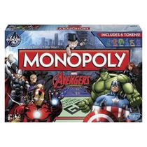 Juego De Mesa Hasbro 15006 Monopoly Avengers