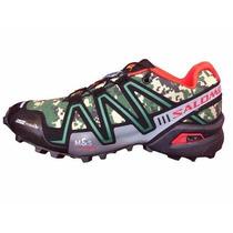 Zapatillas Salomon Speedcross3 Camufladas Nuevos Colores !