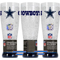 Nfl Yarda Gel Congelable Dallas Cowboys Vaqueros Vaso Freez