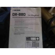 Manual Caja De Ritmos Boss Dr-880 En Español.