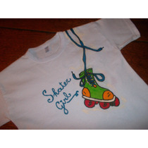 Remeras Para Niños Pintadas A Mano A Pedido Del Consumidor