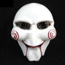 Máscara Jogos Mortais Jigsaw Saw Fantasia Boneco Billy