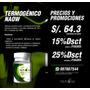Termogenico Quemador Naow (distribuidor Autorizado)