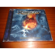 Rhapsody - Cd The Frozen Tears Of Angels - Lacrado - Nac.