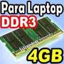 Memorias 4gb Ddr3 Para Laptops