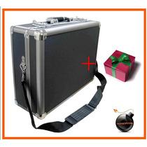 Maletin Estuche Aluminio Pequeno P/camaras Nikon Dsl/slr/tlr