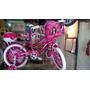 Bicicleta Bmx Rin 16 Modelo Selena Gomez