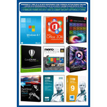 Windows 8.1 Pro + Megapack Programas Pc 2016 (11 Dvds)