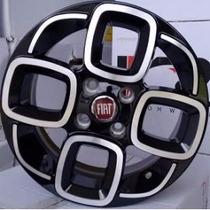 Jogo De Roda Fiat Uno Sporting 2015 Aro 14 4x98 R60