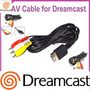 Cable De Audio Y Video Dreamcast Nuevo Y Sellado Fenix Game