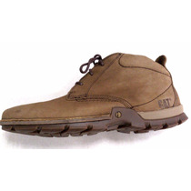 Botas Caterpillar Confort Blaxland Mid Casual Cafe Terra Gym