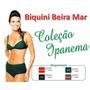 Biquini Beira Mar Ipanema Modelo Exclusivo Exportação