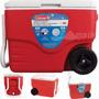 Caixa Termica Rodinhas 38 Litros Cooler Coleman Isopor Rodas