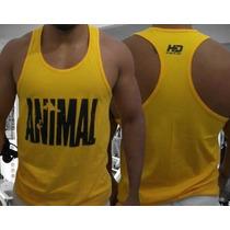 Camisetas Regatas Animal Pak Estilo Nadador Fitness Academia