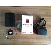 Raspberry Pi3 Pi 3 + Case + Cooler + Dissipador + Fonte