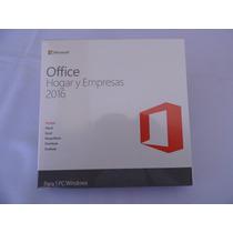 Office Hogar Y Empresas 2016, 32 Y 64 Bits Paquete Fisico 1p