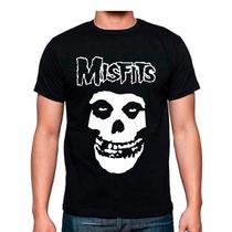 Playera Misfits Rock Bandas Mas Promociones Envio Gratis