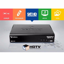 Receptor Digital Hd Century Midia Box Hdtv Com Globo Hd