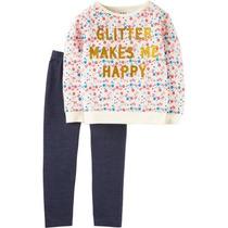 Conjunto Blusa Pantalón Carters Talla 3 Y 4 Envío Gratis