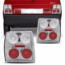 Lanterna Uno Mille Esportiva Cristal 84 A 2004 Vermelha Novo
