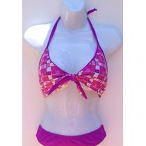 Bello Bikini 100%licra De Calidad, Talla L, Fina Confección.