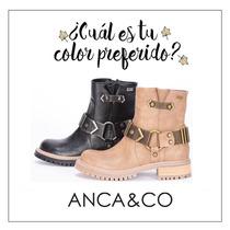 Bota Mujer Invierno Anca Y Co Zapato Paula Vincha Metal