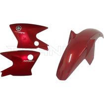 Aba Do Tanque+paralama Diant. Ybr 125 Factor Vermelho 2009