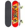 Skate Semi Profissional Barato Lixa Truck Rodas Abec-7
