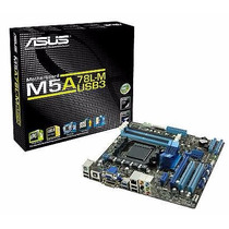 Placa Madre Asus M5a78l-m/usb3 Am3+ Usb 3.0 Hdmi