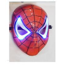 Máscara Do Homem Aranha Com Luzes