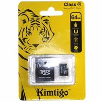 Kimtigo Memoria Micro Sd 64gb Clase 10 30 Mbs Adaptador