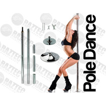 Tubo Portatil Giratorio Pole Dance Ejercicio Sensual Con Dvd