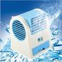 Mini Aire Acondicionado Ventilador Portatil Usb Y Pilas