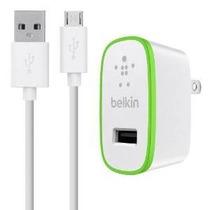 Belkin 2.1a Cargador Casero Con Microusb De Carga / Sincroni