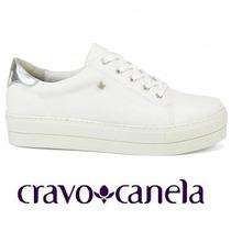 20% Off Tênis Plafaforma Cravo & Canela Jeans 148901