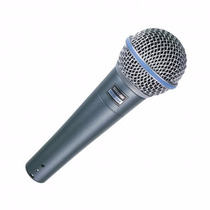 Shure Beta 58a Micrófono Dinámico Vocal Super Cardioide Orig